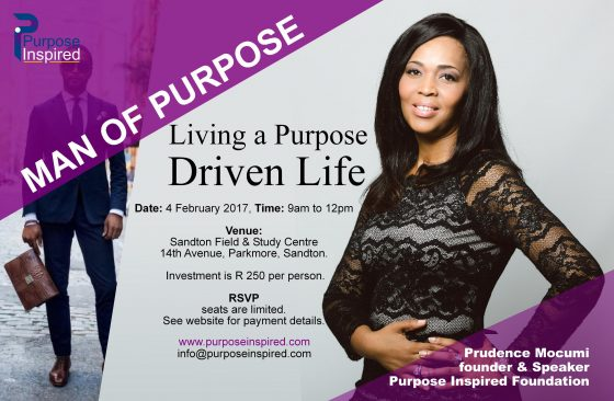Man of Purpose: Living on Purpose