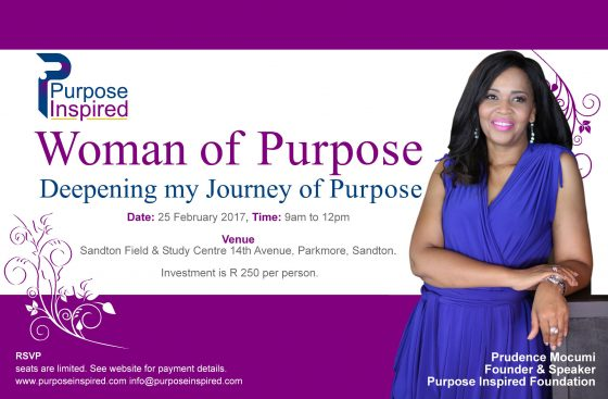 Woman of Purpose: Deepening My Journey of Purpose