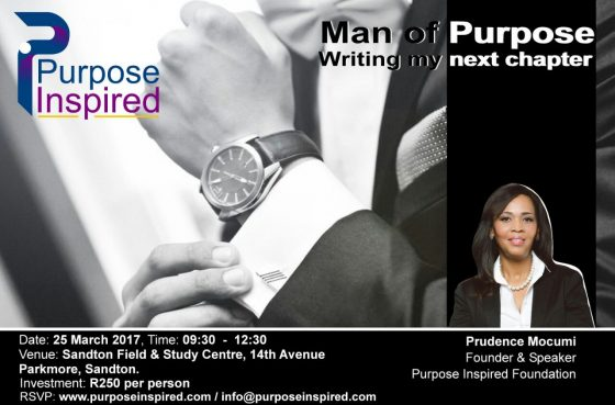 Man of Purpose: Next Chapter