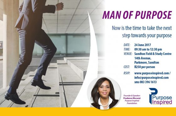 Man of Purpose: Time to Take The Next Step..