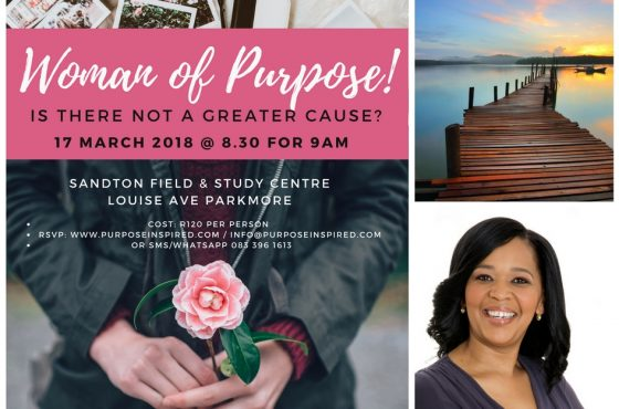 Woman of Purpose: Is there Not a Greater Cause