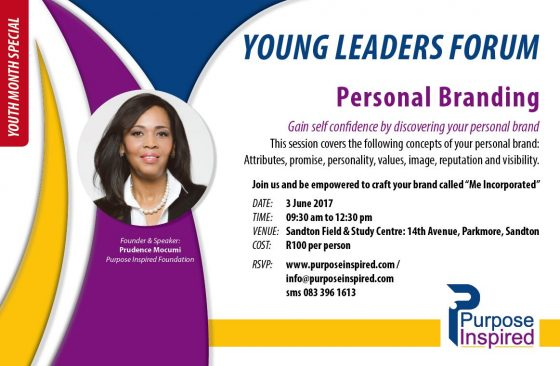 Young Leaders: Personal Branding Session