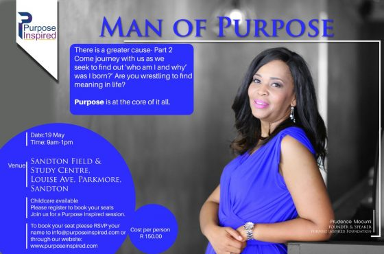 Man of Purpose: There Is a Greater Cause Part 2
