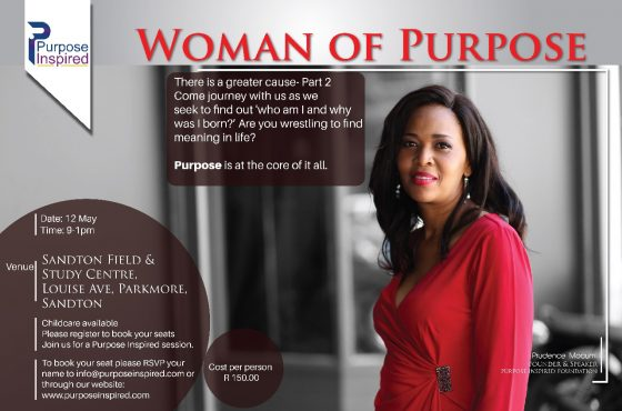 Woman of Purpose: There is a Greater Cause Part 2