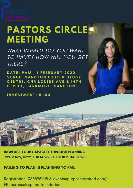 Pastors Circle Meeting