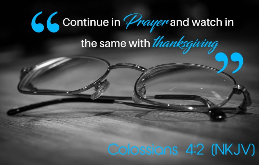 Scripture: Prayer and Pursuit…