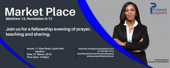 Market Place – Teaching | Worship | Prayer |